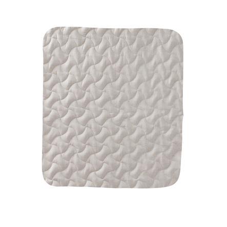 tapis de jeu enfant beige 80x80 cm
