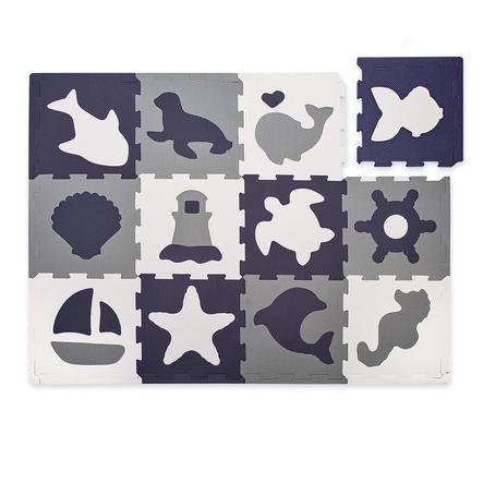 matte tapis puzzle enfant monde marin 12