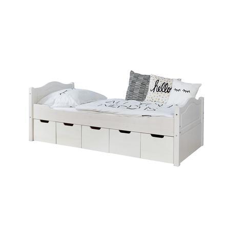 lit simple enfant avec tiroirs de rangemen