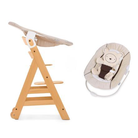 https www roseoubleu fr hauck chaise haute enfant evolutive beta plus bois naturel transat inclus hearts beige a233498 html