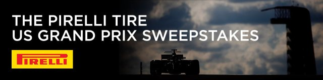 The Pirelli Tire US Grand Prix Sweepstakes