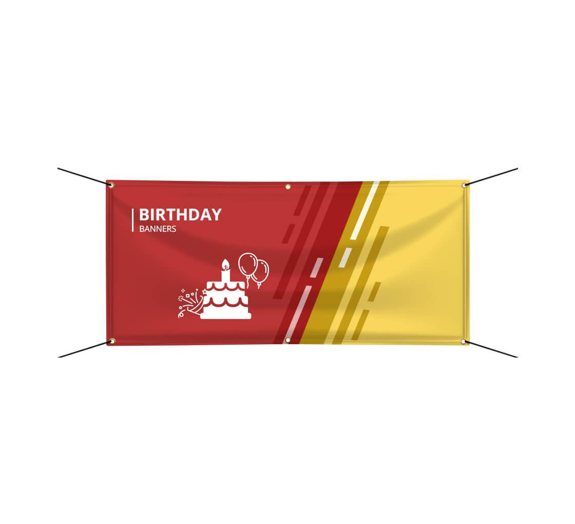 Custom Birthday Banner Printing Design Happy Birthday Banners