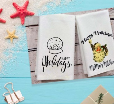 Personalized Sublimation Towels