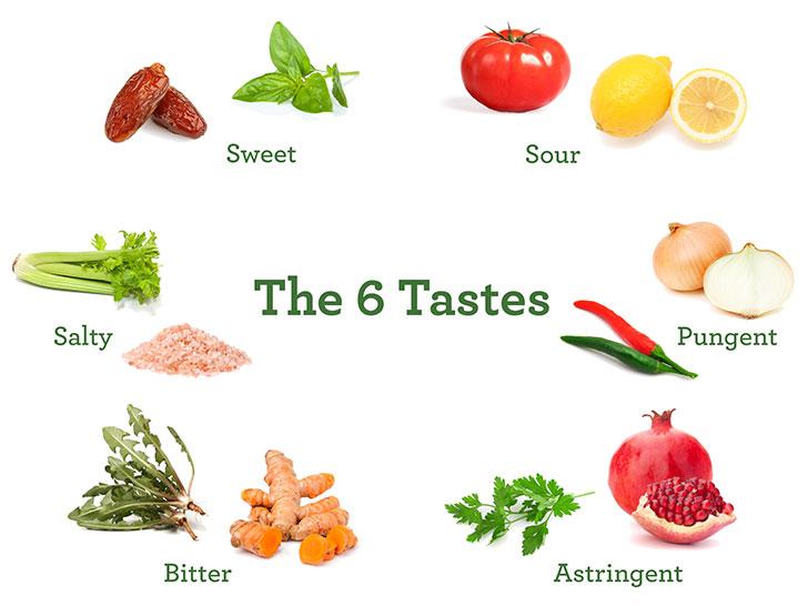 The Six Tastes in Ayurveda | Banyan Botanicals