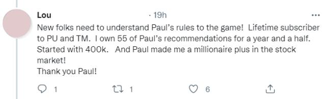 bold profit reader tweet