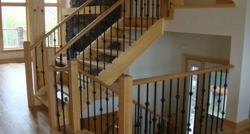 Simple Railings Stairs Inside House Placement Barb Homes | Simple Designs Of Stairs Inside House | Cheap | Fancy House | Ultra Modern | Space | Hidden