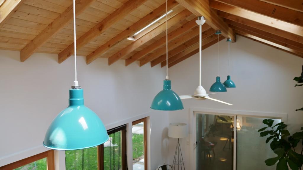 barn lights add rustic style to napa