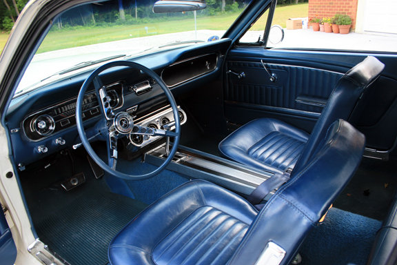 1965 FORD MUSTANG 2 DOOR COUPE 101791