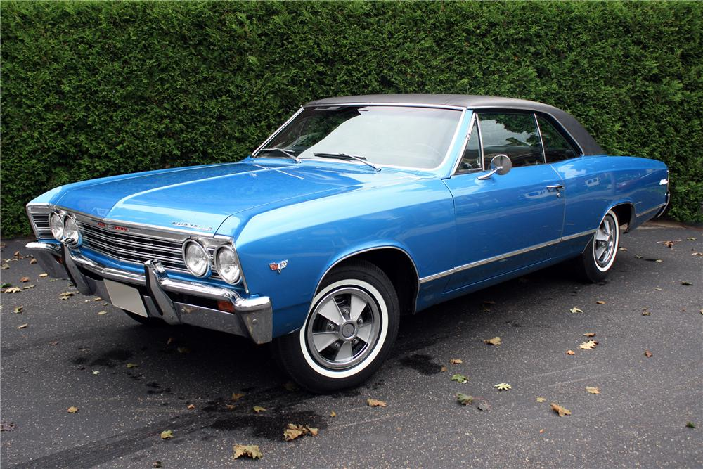 Malibu Chevy 4 1967 Door Chevelle