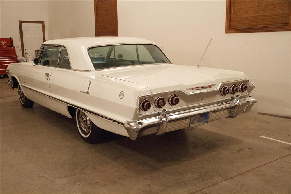 1963 CHEVROLET IMPALA 2 DOOR COUPE 138178