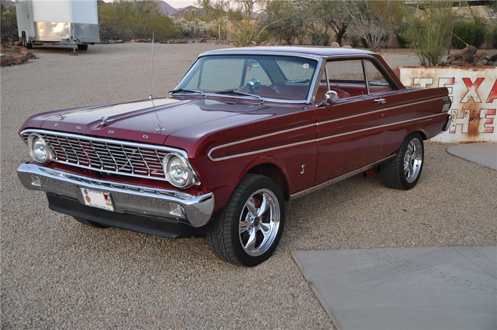 Four Pic 1964 Falcon Door Ford