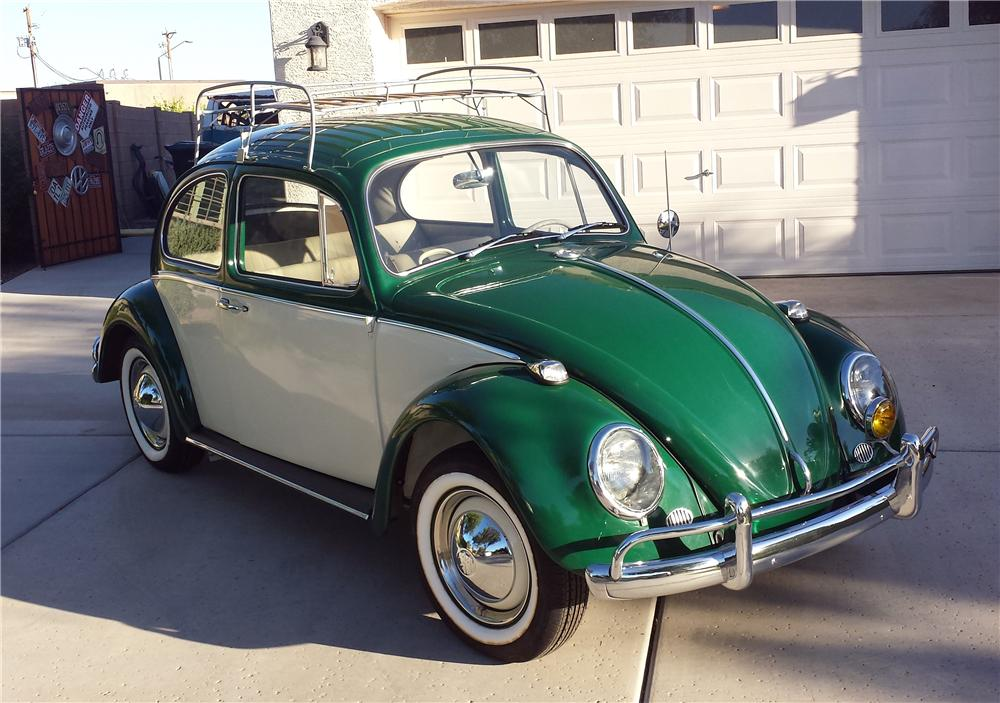 Lot  320 1965 VOLKSWAGEN BEETLE 2 DOOR SEDAN     1965 VOLKSWAGEN BEETLE 2 DOOR SEDAN   Front 3 4   161706