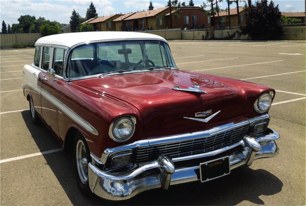 Air Chevy 1956 Station Wagon Bel