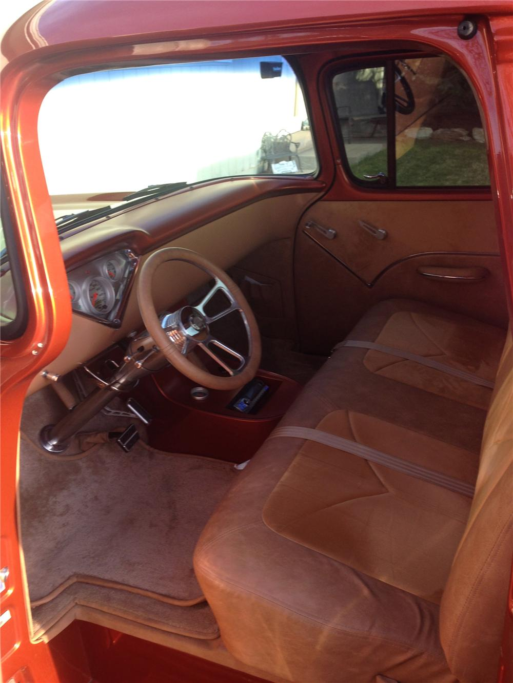 Tan Interior Car