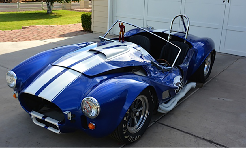 1965 SHELBY COBRA RE CREATION ROLLING CHASSIS 178492