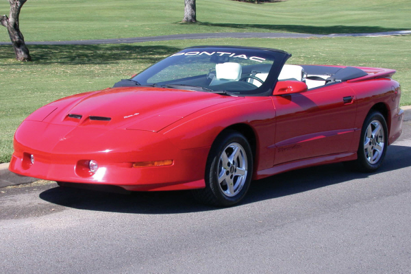 1997 PONTIAC FIREBIRD TRANS AM CONVERTIBLE 24192