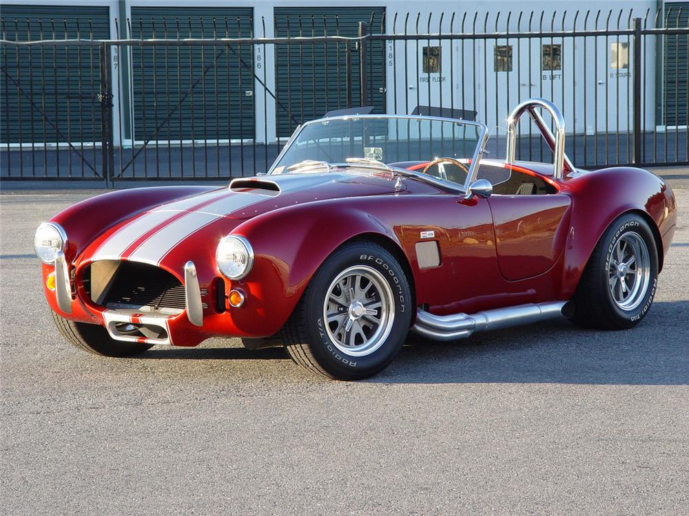 1965 SHELBY COBRA ROADSTER RE CREATION
