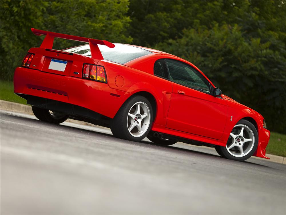 2000 FORD MUSTANG COBRA R COUPE79084