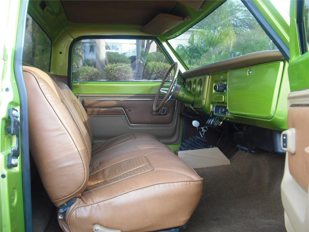 1968 CHEVROLET C 10 CUSTOM PICKUP 91037