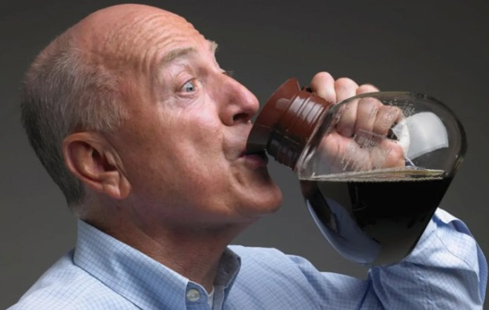 Image result for person drinking coffee