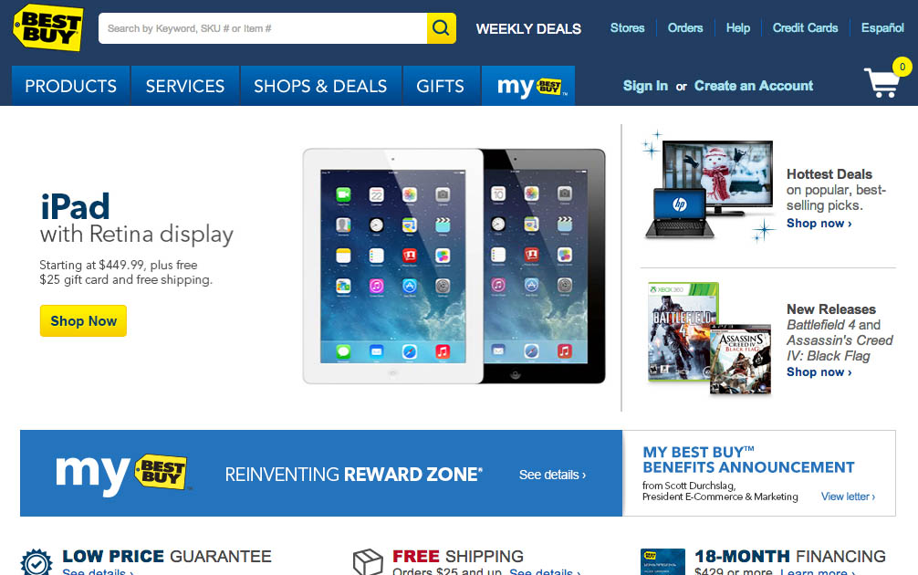 E-Commerce Usability: The Main Navigation Should Display Product Categories  (18% Don't) - Articles - Baymard Institute
