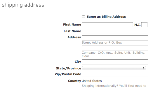 Form Usability Getting Address Line 2