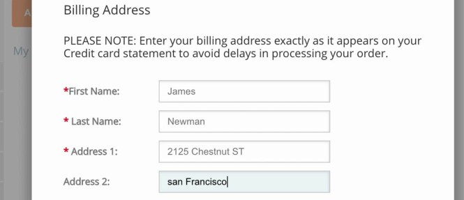 Address Line 2 Form Fields Where Users Add An Apartment Number Suite Or Other Secondary Information Will Often Only Be Used By A Minority