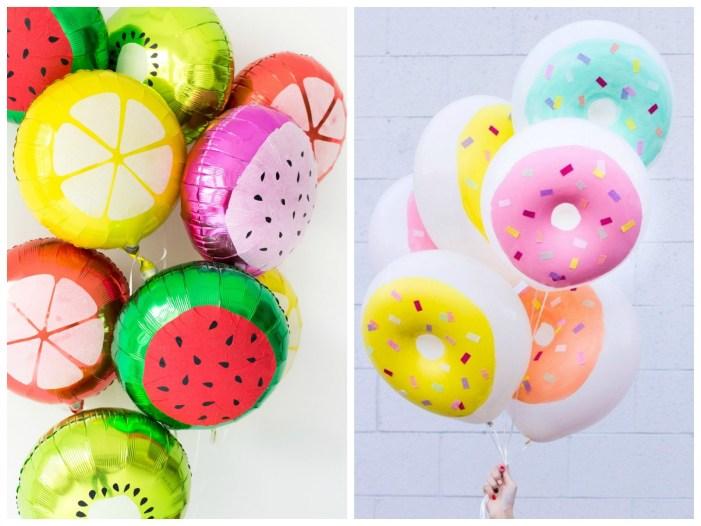 Yummy Looking Balloons