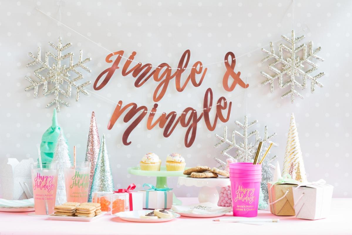 Dreaming Of A Kitsch Christmas An Aqua And Pink Christmas