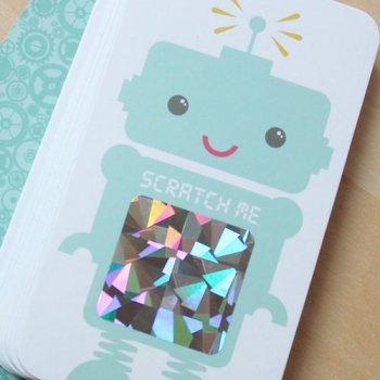 Robot Scratch Cards Game