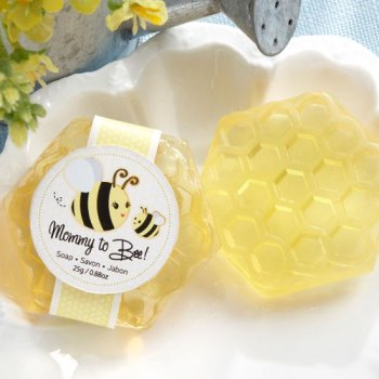 Mom To Bee Honeycomb Soap favors