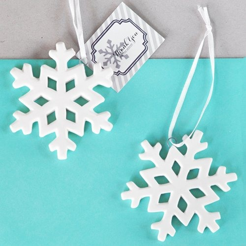 Personalized Porcelain Snowflake Ornament Snowflake