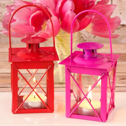 Colored Tealight Lanterns Mini Tealight Lanterns Mini
