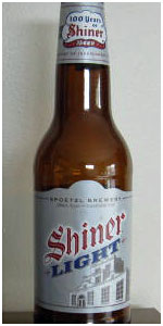 Shiner Light Spoetzl Brewery BeerAdvocate
