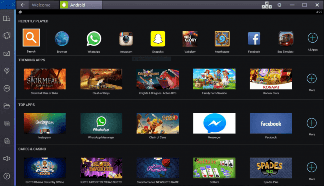 How to use andriod apps on your windows or IOs device