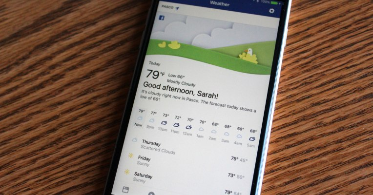 Facebook Weather Forecaster Is Here,How To Access This