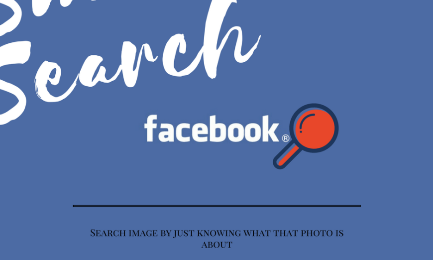 Search Images On Facebook By Just Typing What In It