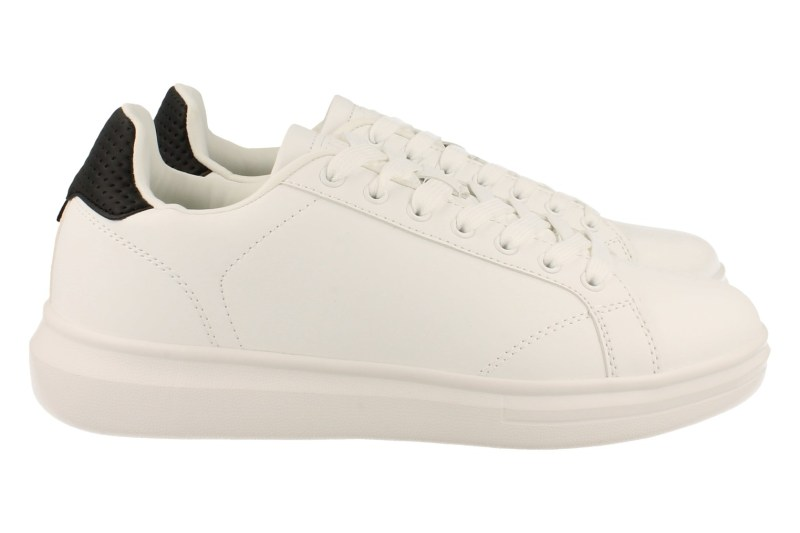 Mode-Mania Sneaker Laag Heren Trend Clean White Eco - Wit