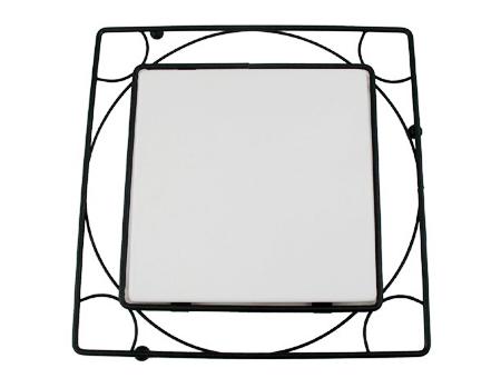 metal trivet frame for 6 tile