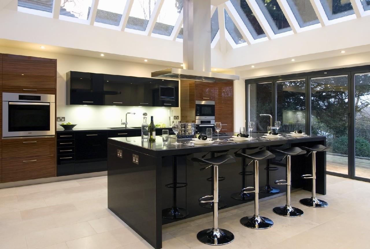 modern kitchen islands