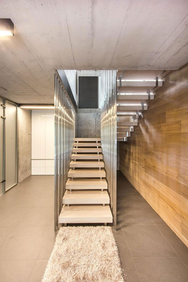 Architecture And Interior Design Of The Three Story