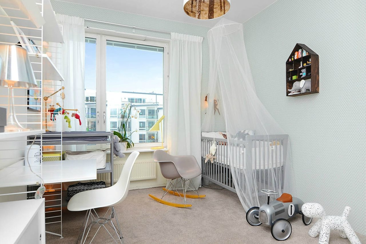 Scandinavian Styled Childrens Room