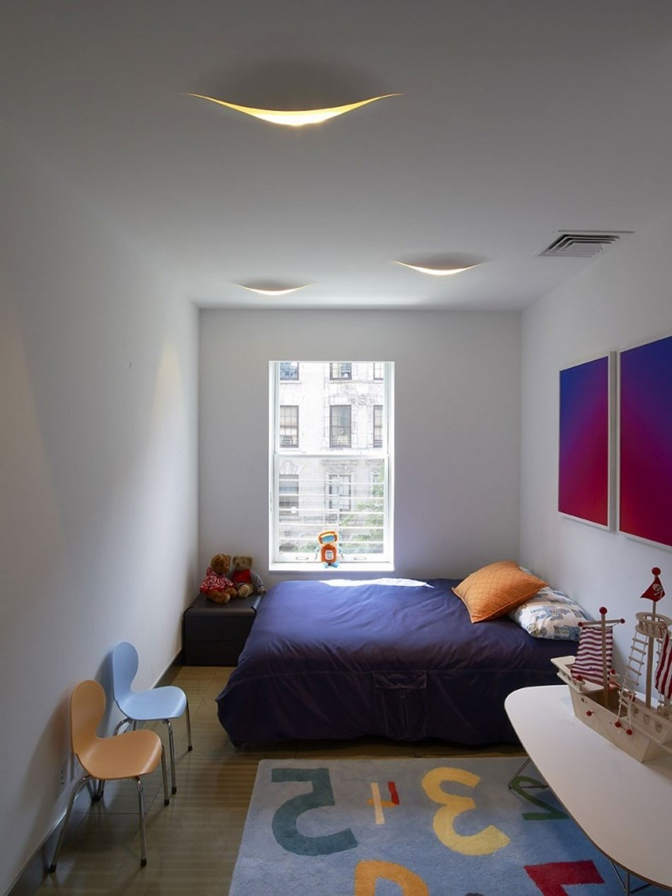 Interior Design Luxurious Townhouse In New York With Two