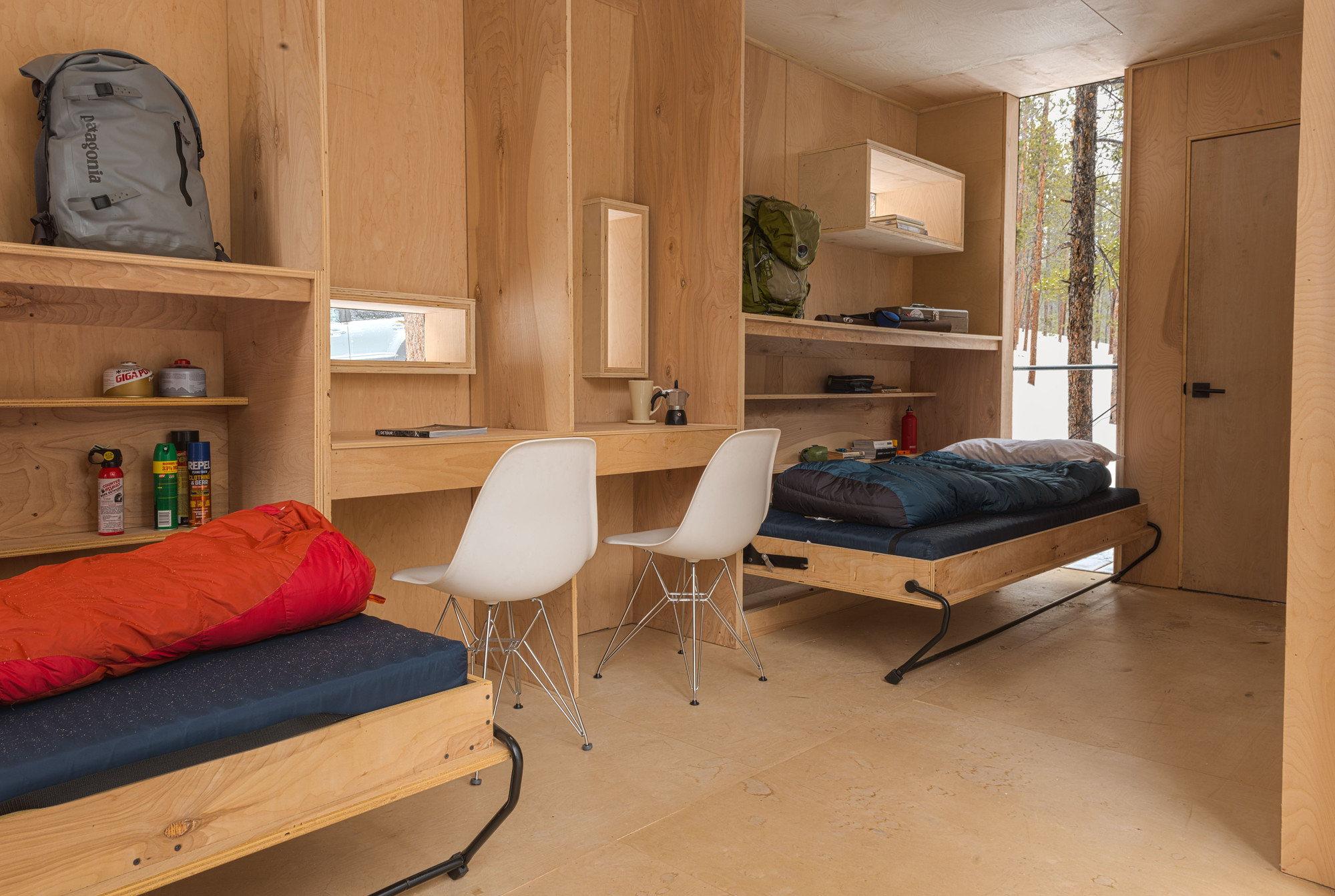 The Dormitory Of The Outward Bound School In Colorado