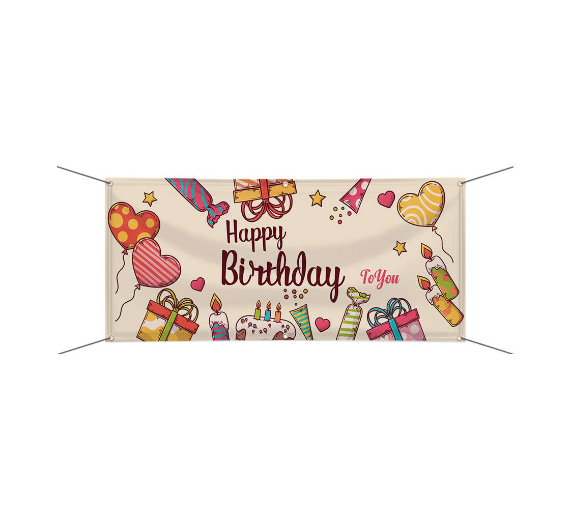 Buy Personalized Vinyl Birthday Banners For Your Loved One Best Of Signs