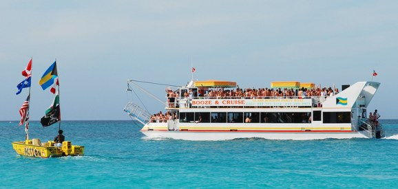 A booze cruise
