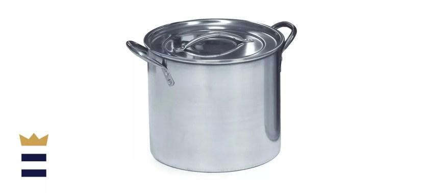 IMUSA USA Stainless Steel Stock Pot 20-Quart