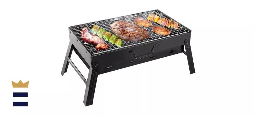 Moclever Stainless Steel Small Charcoal Grill