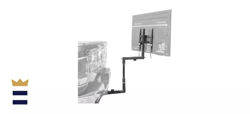 Mount-It! Tailgate TV Mount   Full Motion Tailgate TV Stand for 2 Inch Receiver Hitch