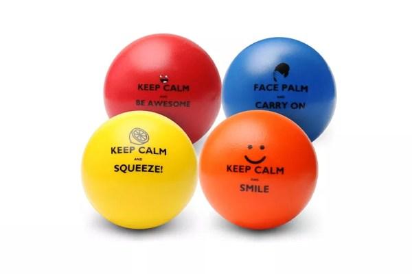 Pure Origins Keep Calm Motivational Stress Balls
